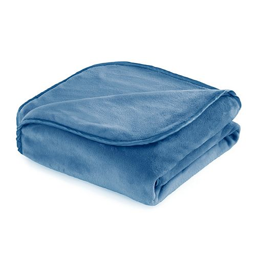 Vellux Heavy Weight 7-lb. Azure Blue Weighted Throw