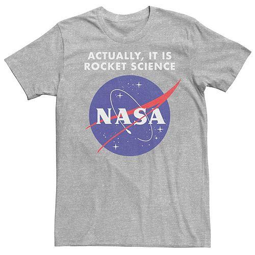 Men's NASA Logo Actually It Is Rocket Science Tee