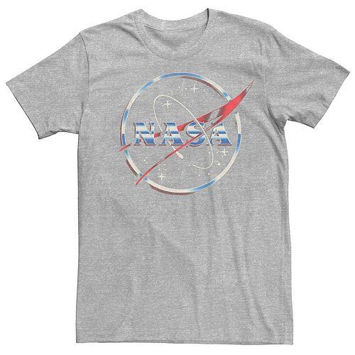 Men's NASA 80s Space Station Logo Tee