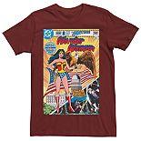 Men's DC Comics Wonder Woman Vintage Huntress Tee