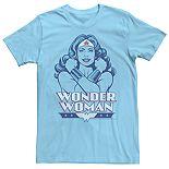 Men's DC Comics Wonder Woman Portrait Tee