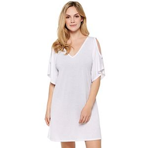 Women's Wearabouts Cold-Shoulder Caftan Cover-Up
