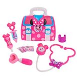 Disney Junior's Minnie Mouse Minnie's Happy Helpers Bow-Care Doctor Bag Set by Just Play