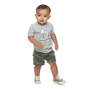 """Family Fun Baby Peanuts Snoopy """"Love Your Mother"""" Earth Graphic Tee"""