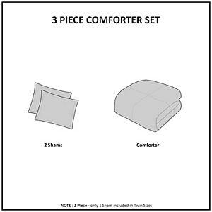 INK + IVY Suri Cotton Jacquard Comforter Set