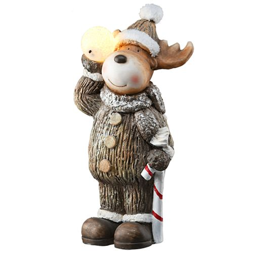 National Tree Company 19-in. LED Moose Decoration