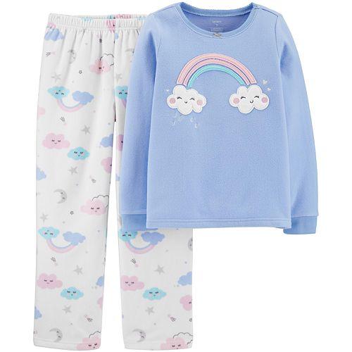 Girls 4-14 Carter's 2-Piece Snug Fit PJs