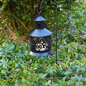 LumaBase Outdoor Lantern Garden Stake 2-Piece Set