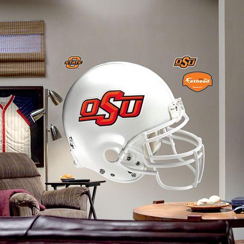 Fathead® Oklahoma State University Cowboys Helmet Wall Decal