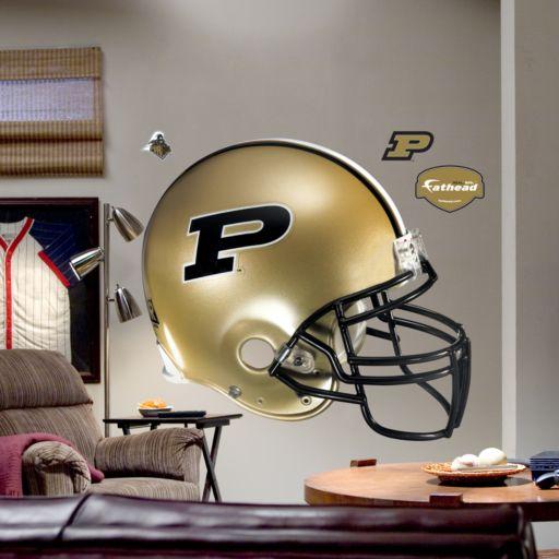 Fathead Purdue University Boilermakers Helmet Wall Decal