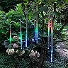 LumaBase Solar Multi-Colored LED Meteor Light Tubes