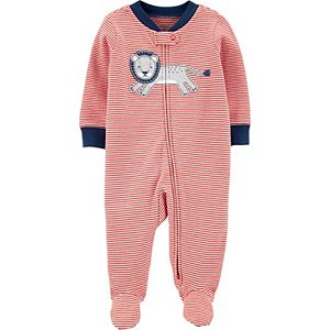 Baby Boy Carter's Lion Zip-Up Cotton Sleep & Play