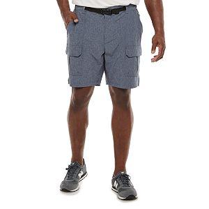 Big & Tall Croft & Barrow® Belted Ripstop Cargo Shorts