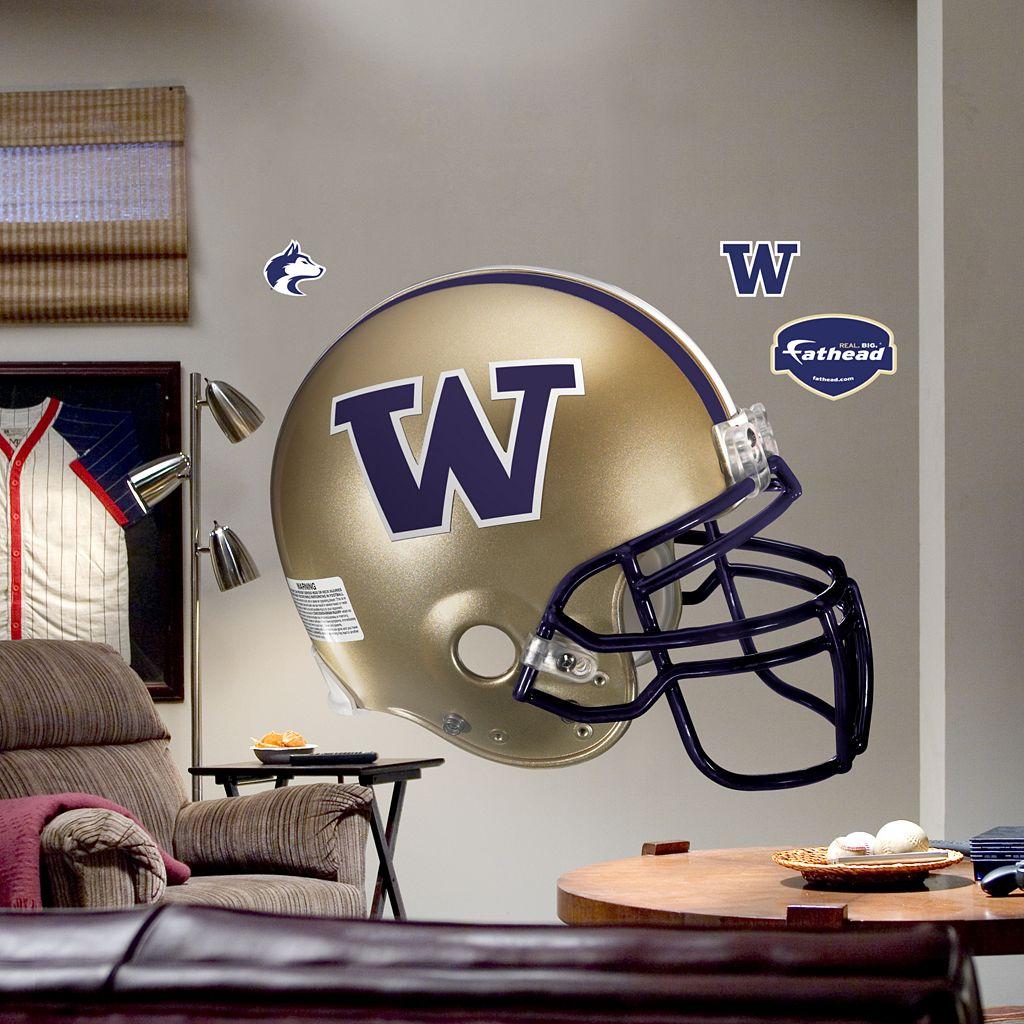 Fathead® University of Washington Huskies Helmet Wall Decal