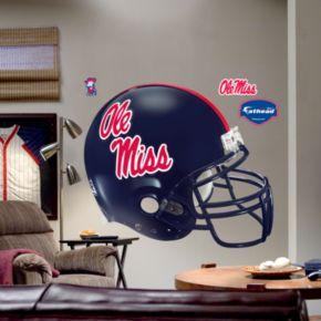 Fathead University of Mississippi Rebels Helmet Wall Decal