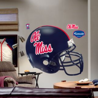 Fathead University of Mississippi Rebels Helmet Wall Decal