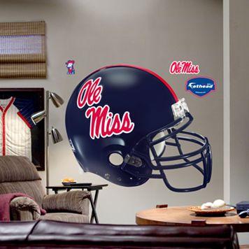 Fathead® University of Mississippi Rebels Helmet Wall Decal