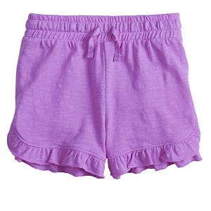 Girls 4-12 Jumping Beans® Ruffled-Hem Shortie Shorts