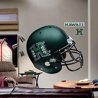Fathead® University of Hawaii Warriors Helmet Wall Decal