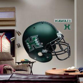 Fathead University of Hawaii Warriors Helmet Wall Decal