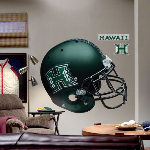Fathead University of Hawaii Warriors Helmet Wall Decal