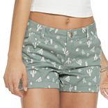 Juniors' SO® Chino Midi Shorts