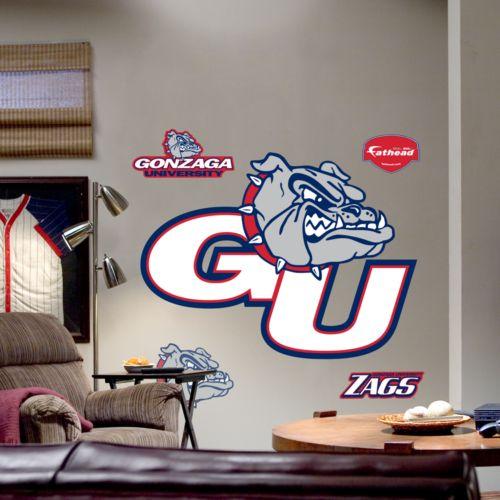 Fathead Gonzaga University Bulldogs Logo Wall Decal
