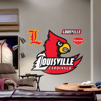 Fathead® University of Louisville Cardinals Logo Wall Decal