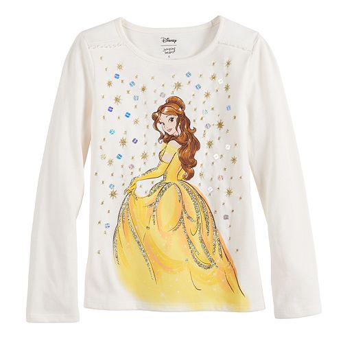 Disney Girls 4-12 Embellished Graphic Tee by Jumping Beans®