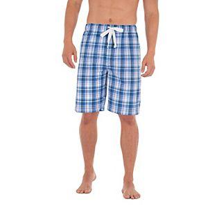 Men's IZOD Poplin Sleep Shorts