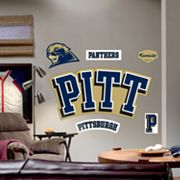 Fathead University of Pittsburgh Panthers Logo Wall Decal