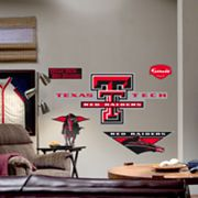 Fathead Texas Tech University Red Raiders Logo Wall Decal