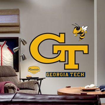Fathead® Georgia Tech Yellow Jackets Logo Wall Decal