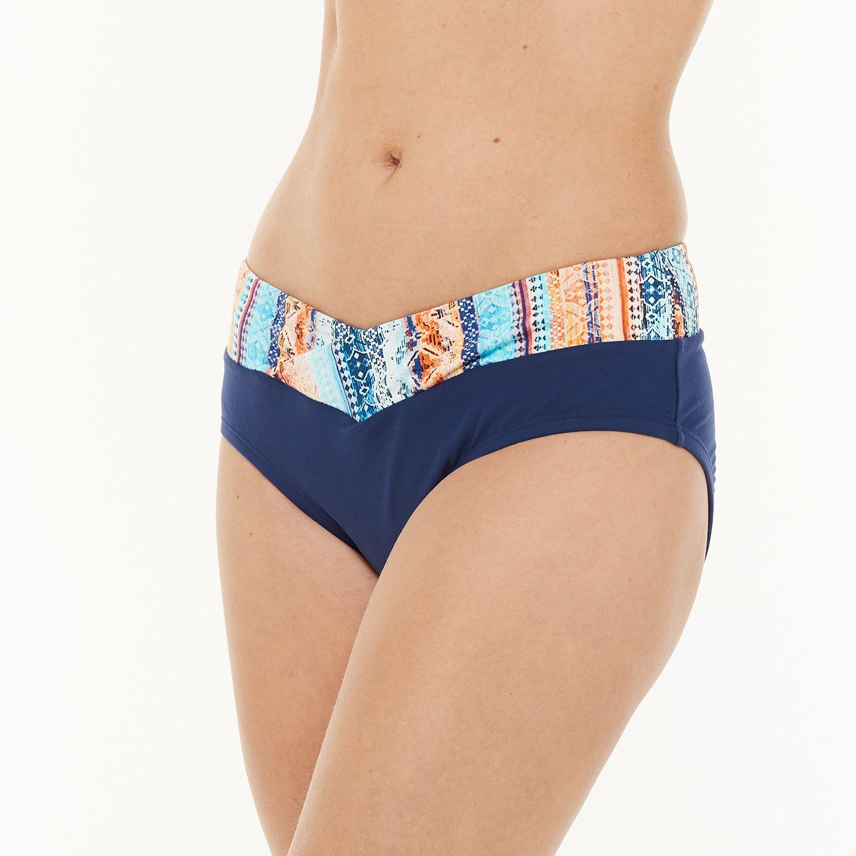 Women's N Swimwear Surplice Midrise Swim Bottoms