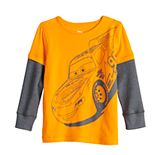 Disney / Pixar Cars Toddler Boy Adaptive Skater Tee by Jumping Beans®
