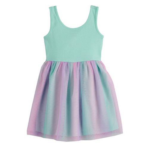 Toddler Girl Jumping Beans® Tulle Tank Dress