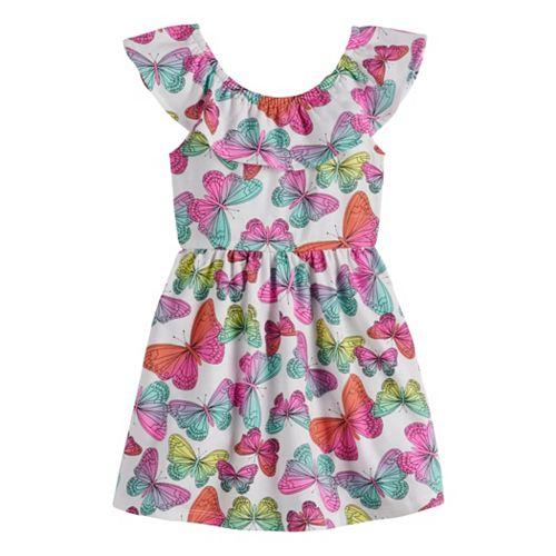 Toddler Girl Jumping Beans® Butterfly Dress