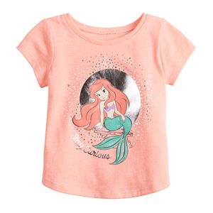 Disney's The Little Mermaid Ariel Toddler Girl Graphic Tee by Jumping Beans®