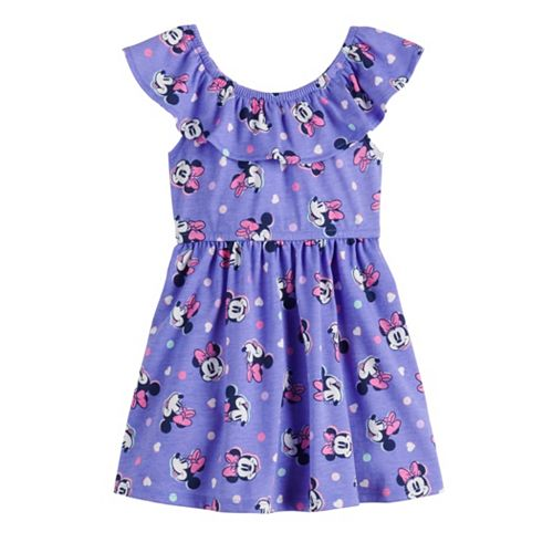 Disney's Minnie Mouse Toddler Girl Ruffled Dress by Jumping Beans®