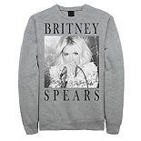 Men's Britney Spears Portrait Panel Sweatshirt