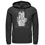 Men's Britney Spears Portrait Pullover Hoodie