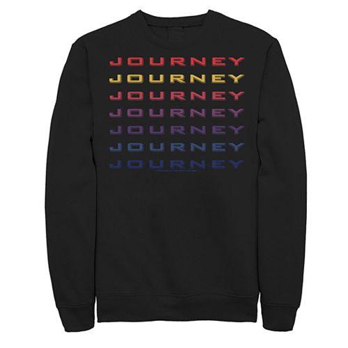 Men's Journey Colorful Word Stack Sweatshirt