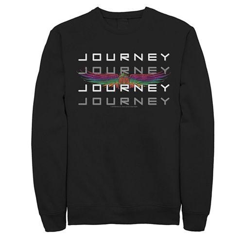 Men's Journey Word Stack Windged Logo Sweatshirt