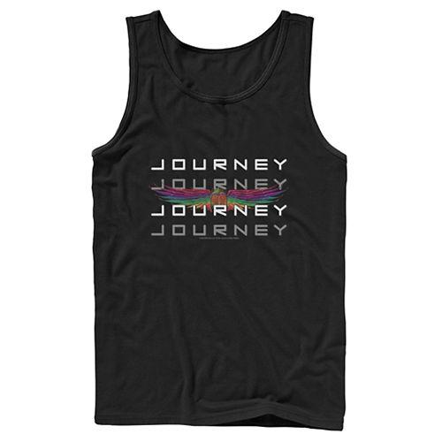 Men's Journey Word Stack Windged Logo Tank
