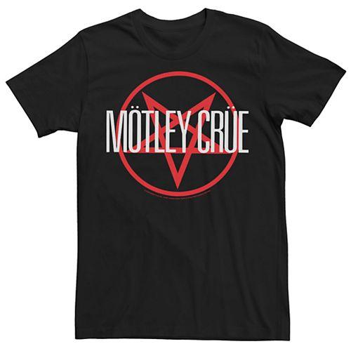 Men's Motley Crue Red Pentagram Tee