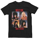 Men's Motley Crue Portrait Panels Tee
