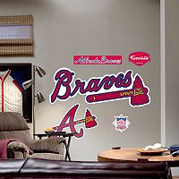 Fathead® Atlanta Braves Logo Wall Decal
