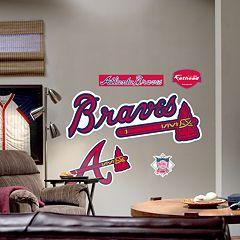 Fathead® Atlanta Braves Logo Wall Decal