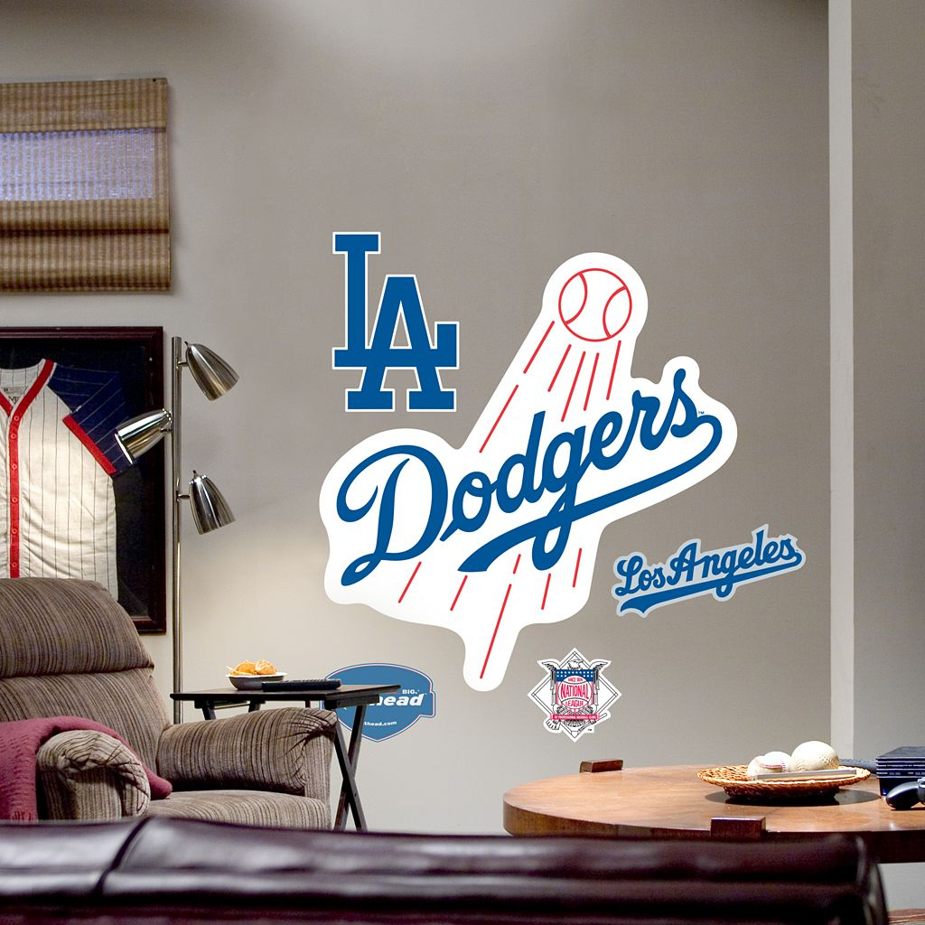 Fathead® Los Angeles Dodgers Logo Wall Decal