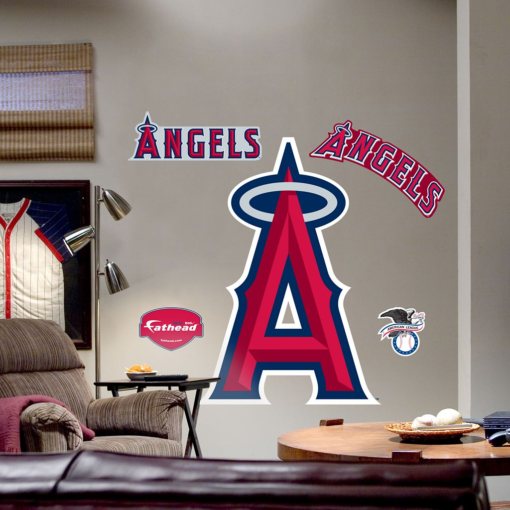 Fathead® Los Angeles Angels Logo Wall Decal